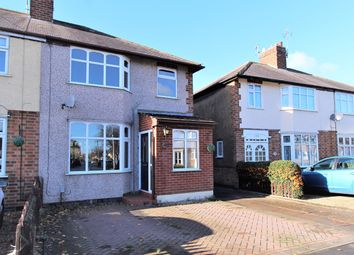 Thumbnail 3 bed semi-detached house for sale in Percival Road, Hillmorton, Rugby