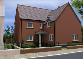 Thumbnail 5 bed detached house for sale in Off Hallam Fields Road, Birstall, Leicester