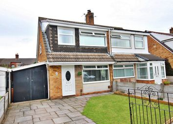 Thumbnail 3 bed semi-detached house for sale in Hornby Crescent, Clock Face, St. Helens