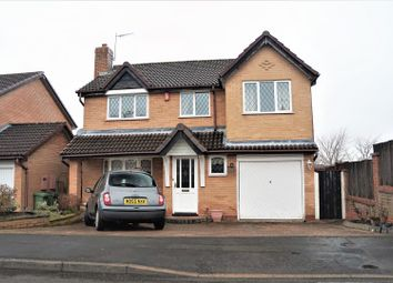 Thumbnail 4 bed detached house for sale in Peartree Close, Glenfield, Leicester