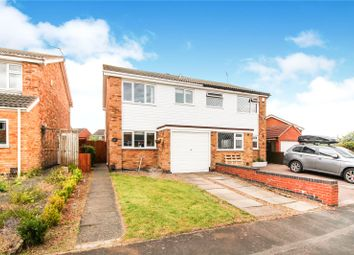 Thumbnail 3 bed semi-detached house for sale in Wayfarer Drive, East Goscote, Leicester, Leicestershire
