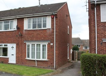 Thumbnail 2 bed end terrace house for sale in Larch Crescent, Eastwood