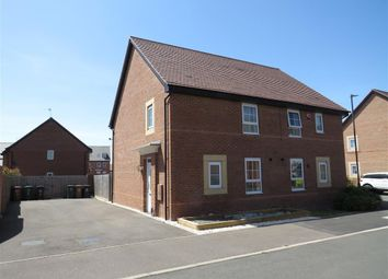 Thumbnail 3 bed semi-detached house for sale in Baneberry Way, Stenson Fields, Derby