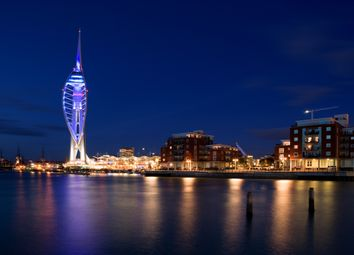 Thumbnail 3 bed flat for sale in Cross Street, Portsmouth