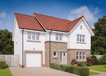 "Thumbnail 5 bed detached house for sale in ""The Darroch"" at Lanfine Drive, Kirkintilloch, Glasgow"