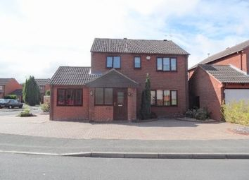 Thumbnail 4 bed detached house for sale in Merrybower Close, Derby