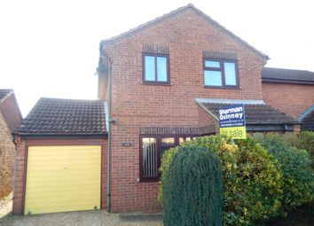 Thumbnail 3 bed semi-detached house for sale in Fraser Close, Deeping St. James, Peterborough