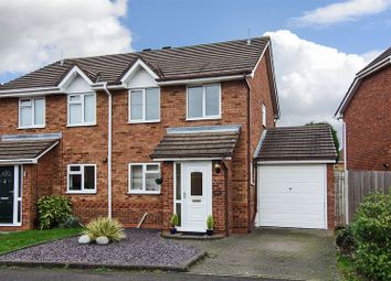 Thumbnail 3 bed semi-detached house for sale in Coltman Close, Boley Park, Lichfield