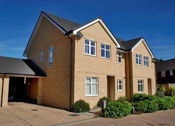 Thumbnail 4 bed semi-detached house for sale in Torreyana Gardens, Pennington, Lymington
