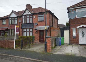 Thumbnail 3 bedroom semi-detached house to rent in Vaughan Avenue, Manchester