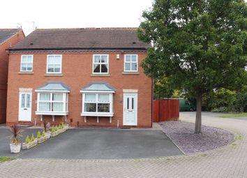 Thumbnail 3 bed semi-detached house for sale in Chapel Street, Wall Heath, Kingswinford