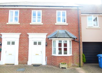 Thumbnail 2 bed terraced house for sale in Reddells Close, Sudbury