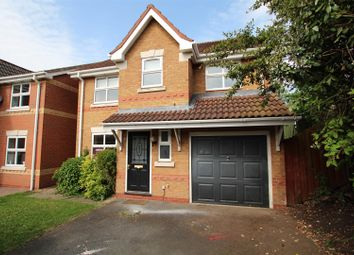 Thumbnail 4 bed detached house for sale in Birch Close, Branston, Burton-On-Trent