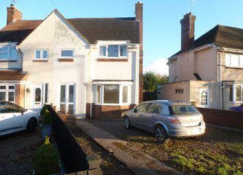 Thumbnail 3 bedroom semi-detached house for sale in Croyland Road, Peterborough