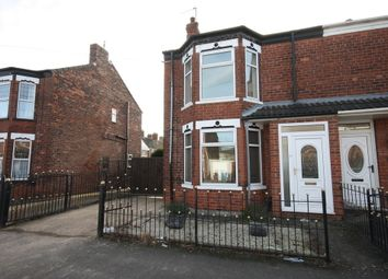 Thumbnail 3 bed end terrace house for sale in Lee Street, Hull