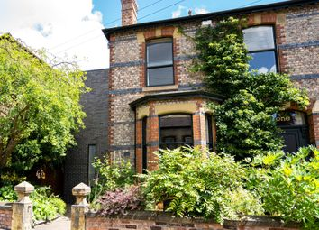 Thumbnail 4 bed town house for sale in Hesketh Avenue, Didsbury, Manchester