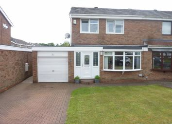 Thumbnail 3 bed semi-detached house to rent in Ashkirk Way, Seaton Delaval, Whitley Bay