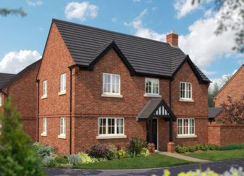 "Thumbnail 4 bed detached house for sale in ""The Montpellier"" at Burton Road, Streethay, Lichfield"