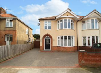 Thumbnail 3 bedroom semi-detached house for sale in Halliwell Road, Ipswich