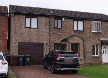 Thumbnail 4 bedroom semi-detached house for sale in Thompson Avenue, Camperdown, Newcastle Upon Tyne