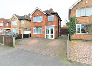 3 bed detached house for sale in Ruskington Drive, Wigston, Leicester LE18