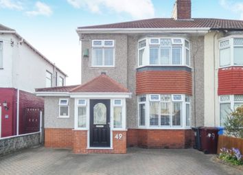 Thumbnail 3 bedroom semi-detached house for sale in Yew Tree Road, Hunts Cross, Liverpool
