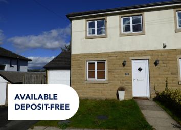 Thumbnail 4 bed semi-detached house to rent in Manor Drive, Cottingley, Bingley