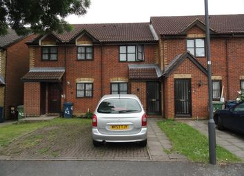 Thumbnail 2 bed terraced house to rent in Greenacre Close, Northolt Middlesex