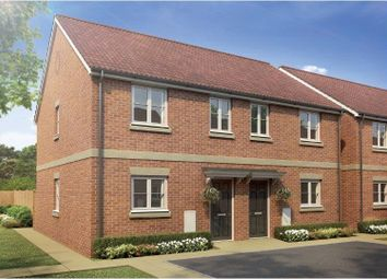Thumbnail 3 bed town house to rent in Main Road, Barleythorpe, Oakham