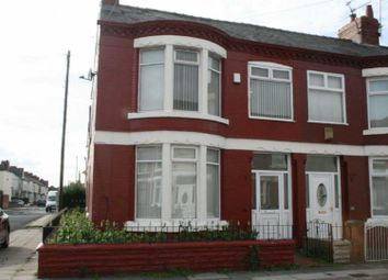 Thumbnail 3 bed terraced house to rent in Knoclaid Road, Old Swan, Liverpool