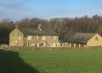 Thumbnail 6 bed barn conversion for sale in Ghyll Clough House, Slaymaker Lane, Oakworth, Keighley