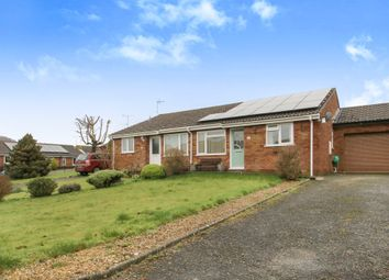 Thumbnail 2 bed semi-detached bungalow for sale in Tedders Close, Hemyock, Cullompton