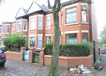 Thumbnail 4 bedroom end terrace house for sale in East Road, Longsight, Manchester