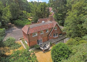 Thumbnail 5 bed detached house for sale in Clumps Road, Lower Bourne, Farnham, Surrey
