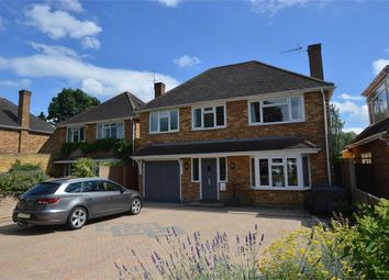 Thumbnail 4 bed detached house for sale in Bramwell Close, Lower Sunbury, Surrey