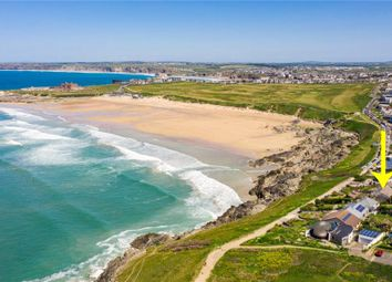 Thumbnail 4 bed detached house for sale in Esplanade Road, Newquay