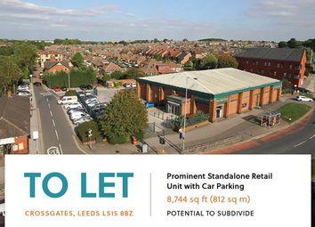 Thumbnail Retail premises to let in Crossgates, Station Road, Leeds
