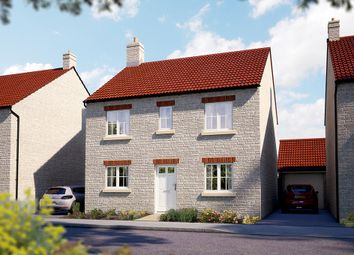 "Thumbnail 4 bed detached house for sale in ""The Buxton"" at Somerton Business Park, Bancombe Road, Somerton"
