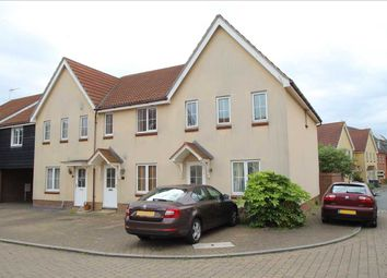 Thumbnail 3 bed semi-detached house to rent in Spindler Close, Kesgrave, Ipswich