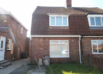 Thumbnail 2 bed semi-detached house to rent in Jack Lawson Terrace (Copy), Wheatley Hill, Durham