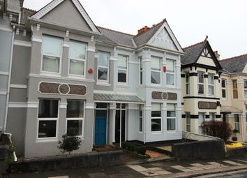 Thumbnail 3 bed terraced house to rent in Endsleigh Park Road, Peverell, Plymouth
