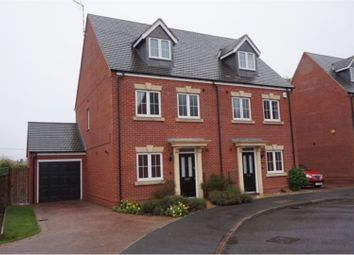 Thumbnail 4 bed town house for sale in Brittain Lane, Warwick