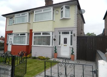 Thumbnail 3 bed semi-detached house for sale in Richland Road, Liverpool