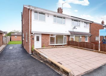 Thumbnail 4 bed semi-detached house for sale in Greenbanks Close, Horsforth, Leeds
