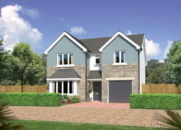"Thumbnail 4 bed detached house for sale in ""Hampsfield"" at Beech Path, East Calder, Livingston"