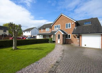 Thumbnail 4 bed detached house for sale in Bridle Hey, Nantwich