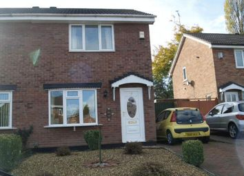 Thumbnail 2 bed semi-detached house for sale in Walker Crescent, St Georges, Telford