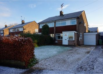 Thumbnail 3 bed semi-detached house for sale in Covert Close, Great Haywood, Stafford