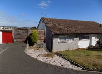 Thumbnail 2 bed semi-detached bungalow for sale in Meadway, St. Austell