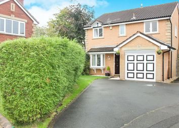 Thumbnail 4 bed detached house for sale in Wyville Close, Hazel Grove, Stockport